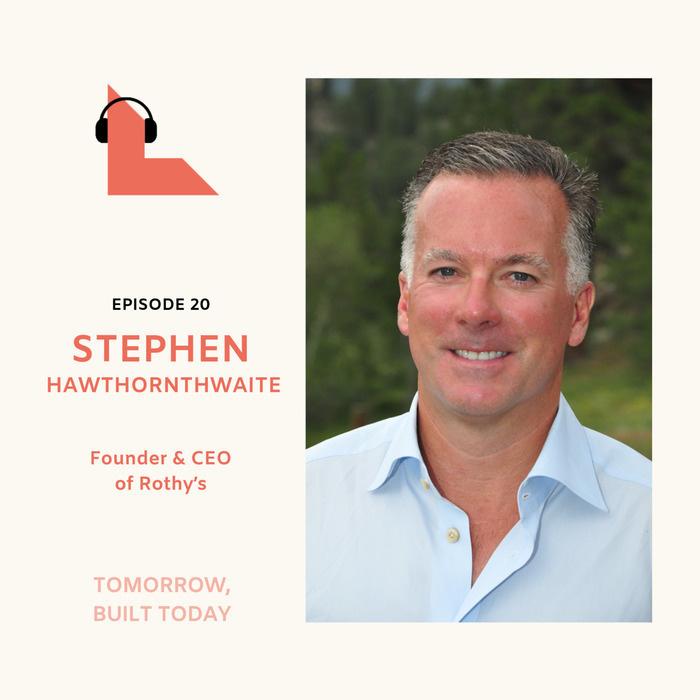 Rothy's CEO Stephen Hawthornthwaite