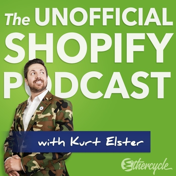 """b092d4b079a The Unofficial Shopify Podcast Logo. """""""