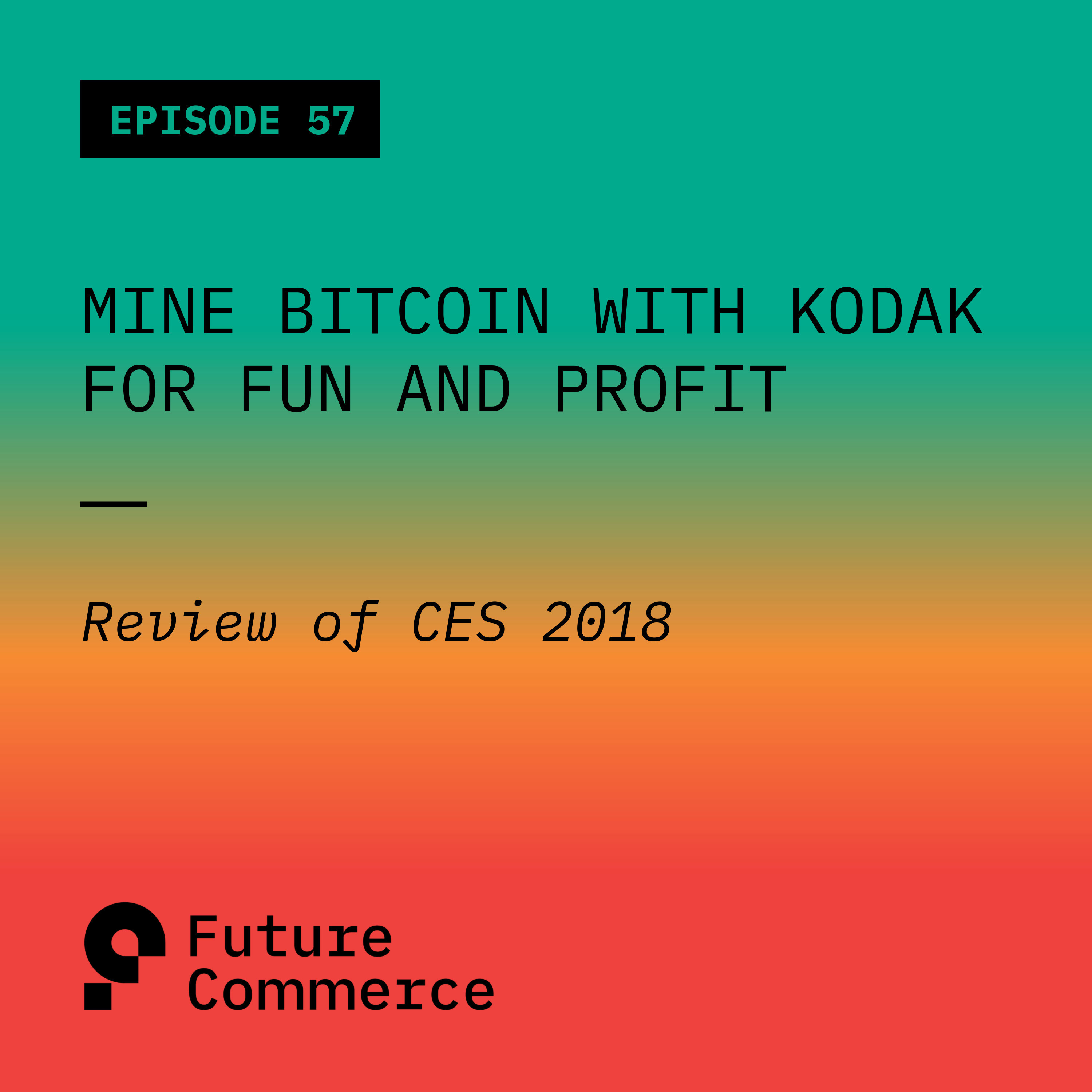 Mine Bitcoin with Kodak for Fun and Profit (CES 2018 Review