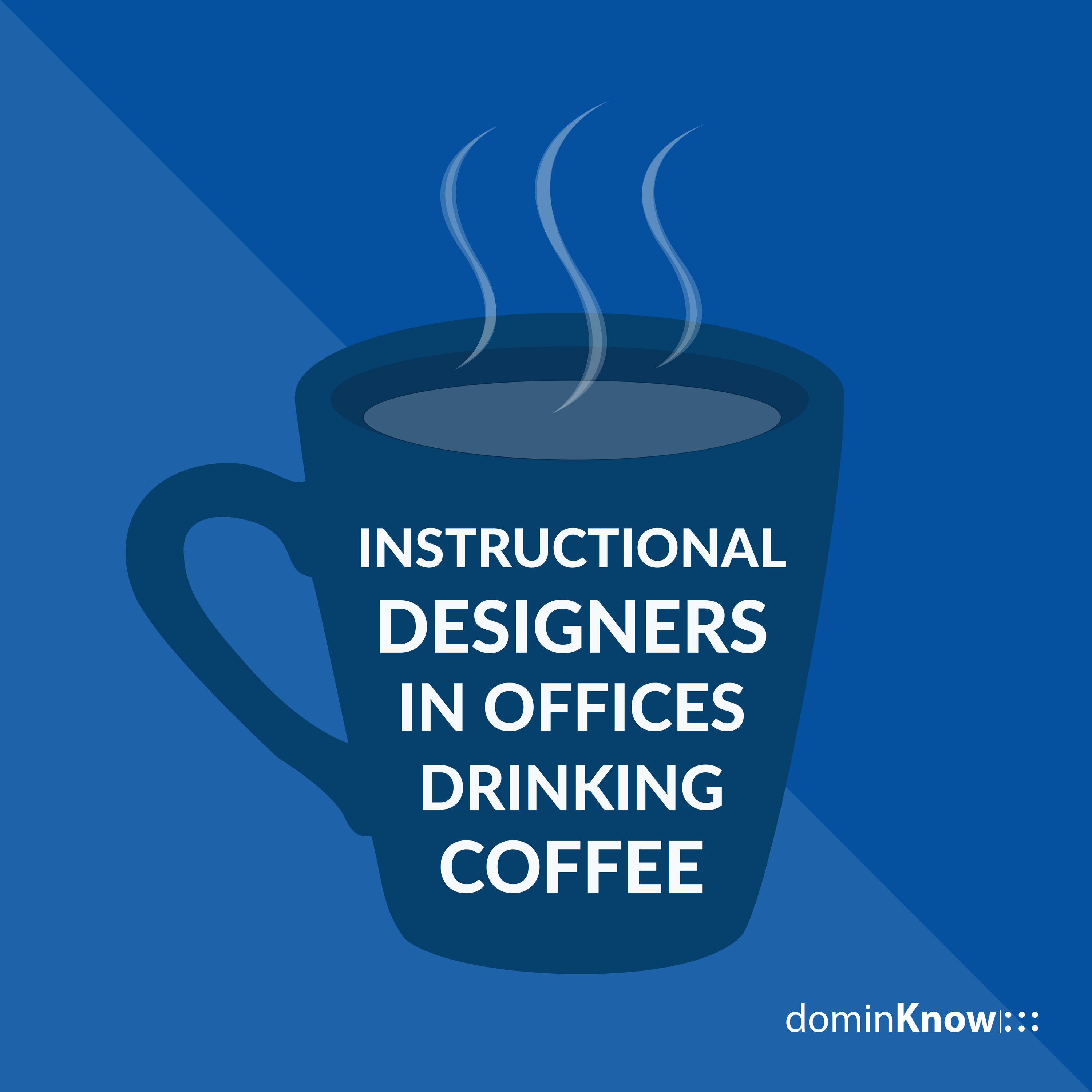 Instructional Designers In Offices Drinking Coffee