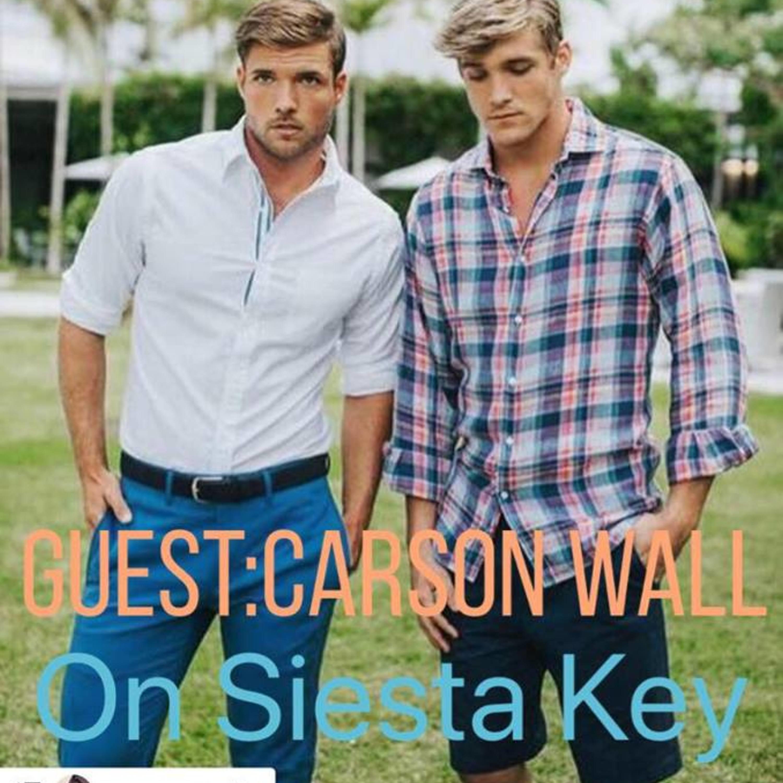 I Talk Siesta Key Premiere with The Hero Himself Carson Wall