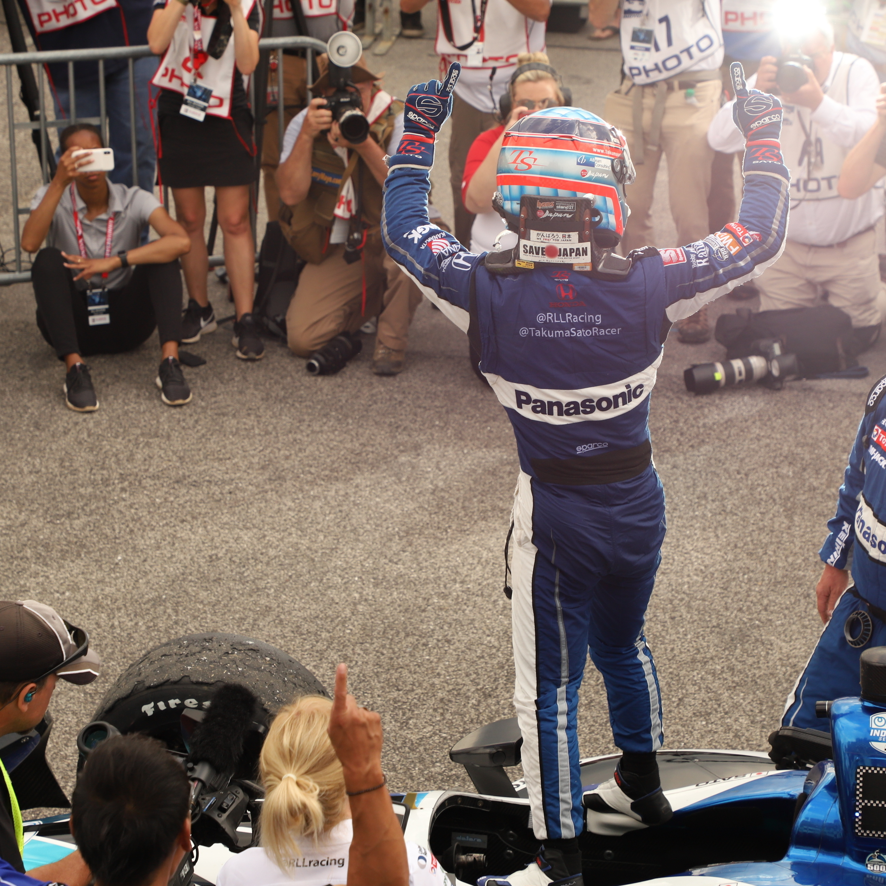 Takuma Sato Dominates Barber Motorsports Park and Looking Forward to Long Beach