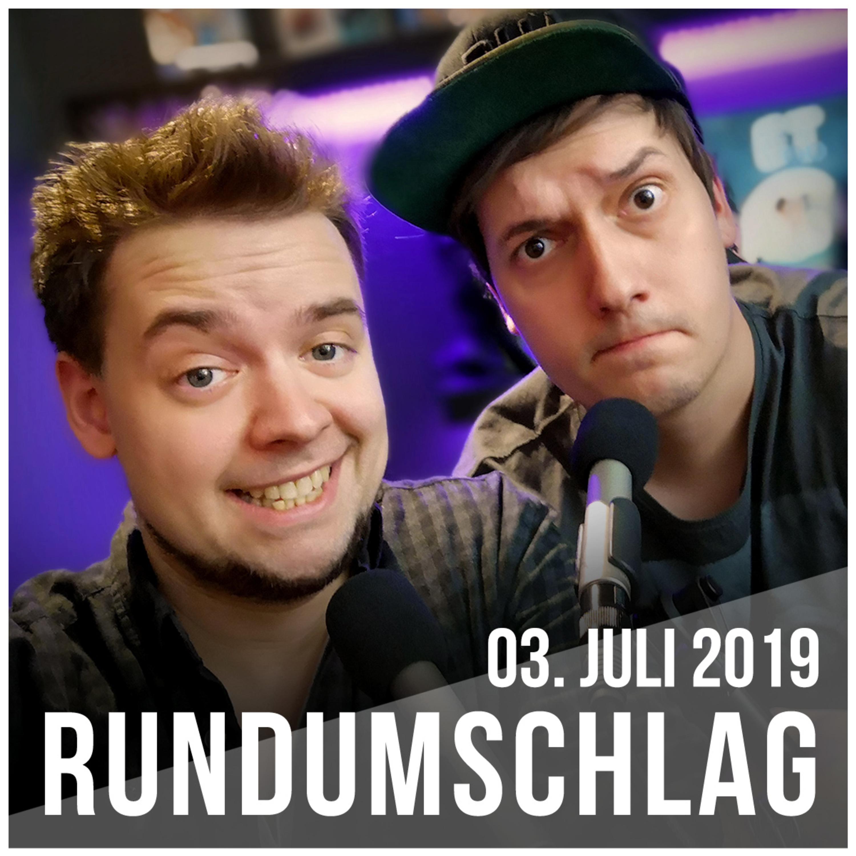 Kaputte Knie, Glyphosat-Verbot & tragische Lotto-Gewinner #Rundumschlag 03. Juli 2019