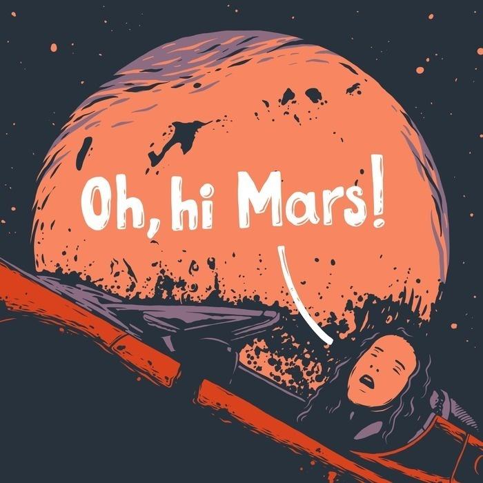 Oh, hi Mars!
