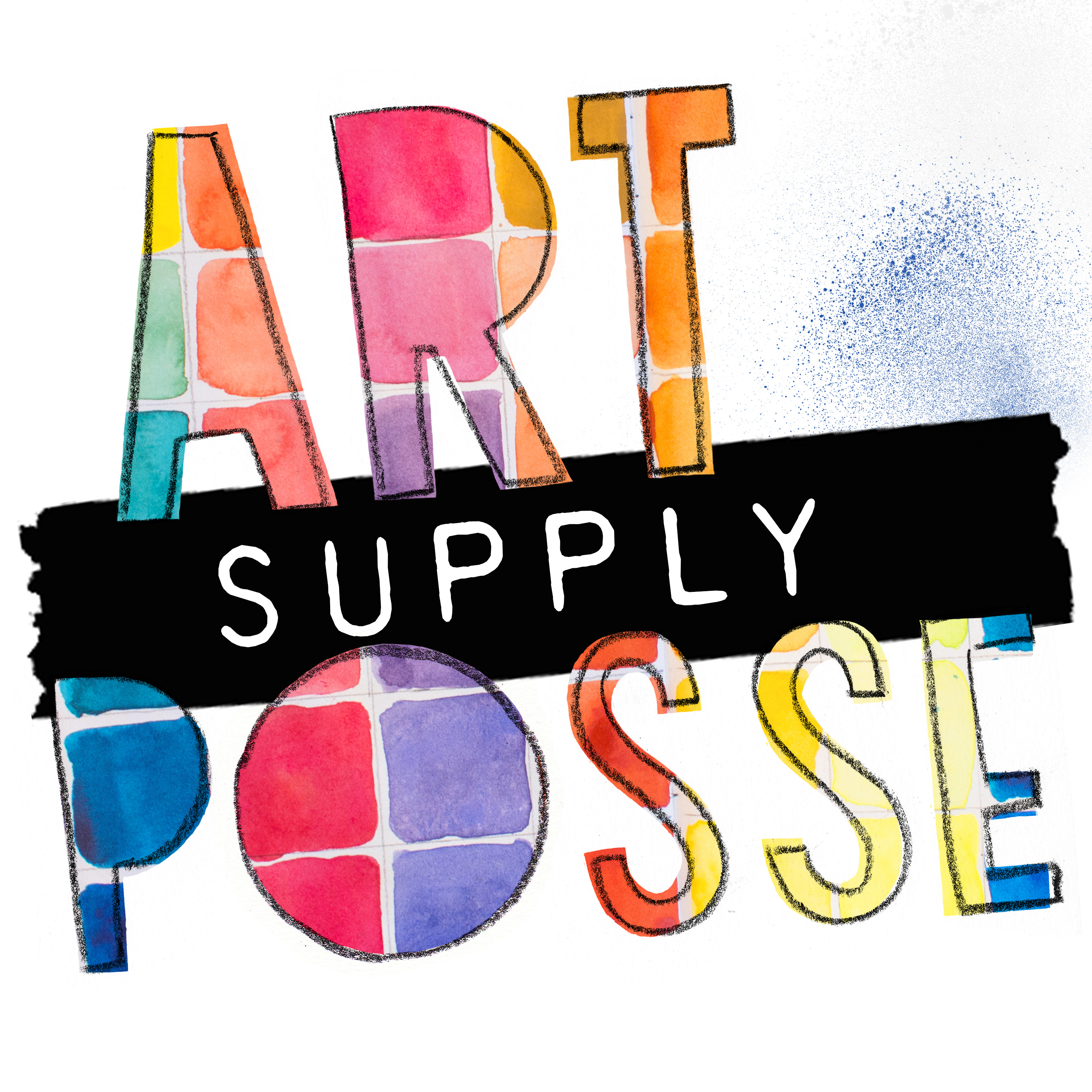 Art supply posse logo colorswatch