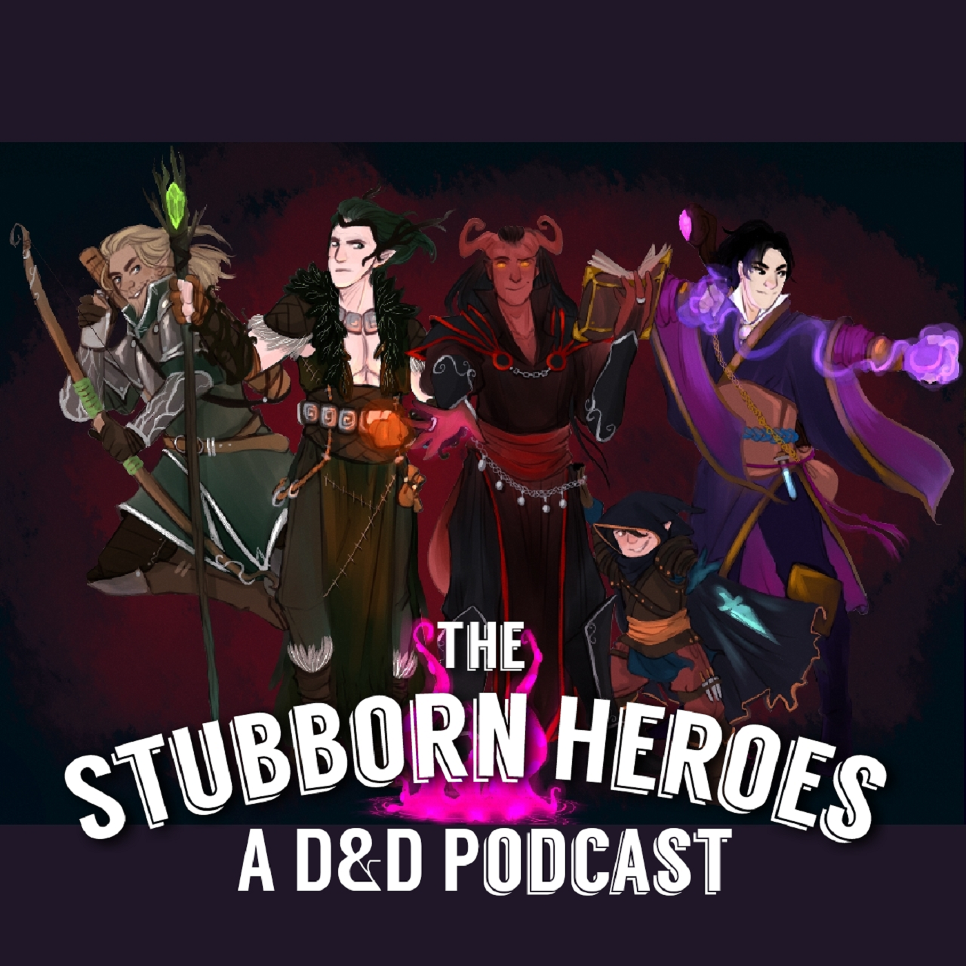 the stubborn heroes a d d podcast