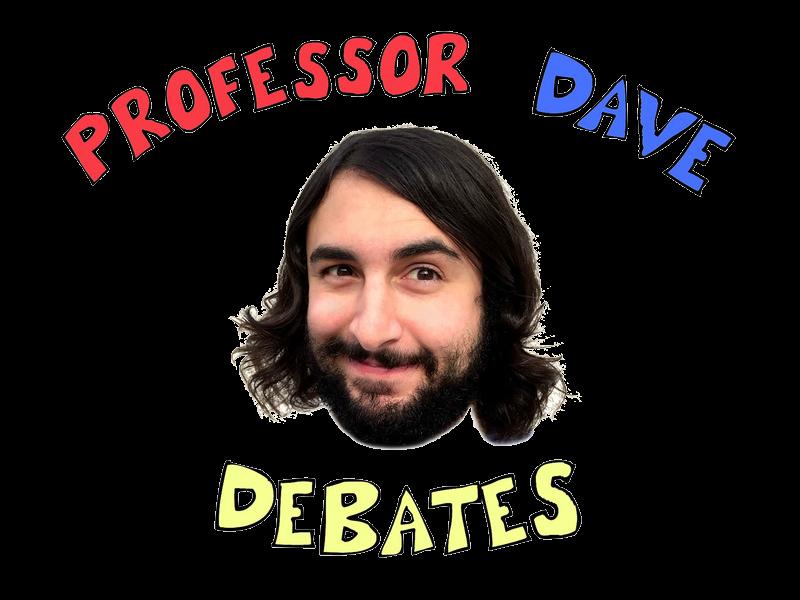 Professor 20dave 20debates 20logo 20transparent 20