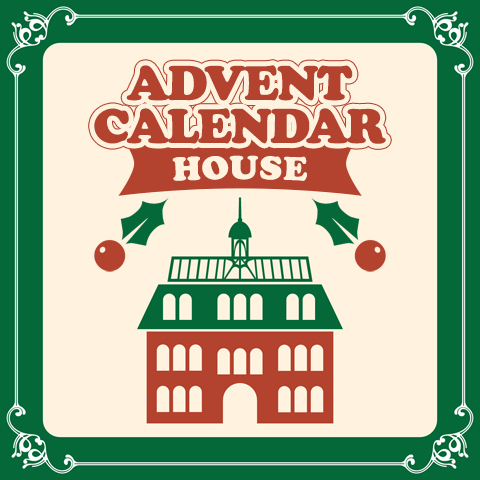 Advent calendar house logo