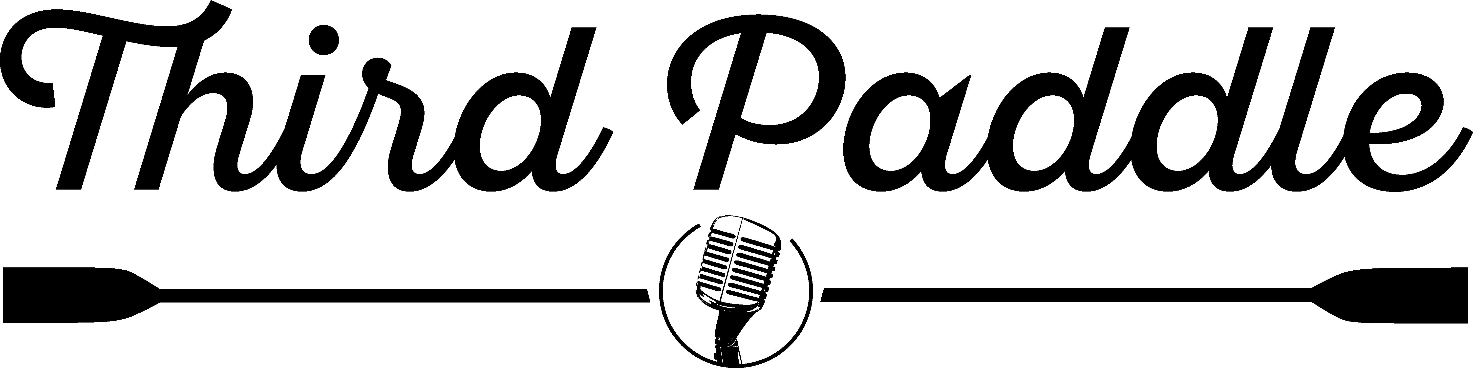 Third paddle logo black