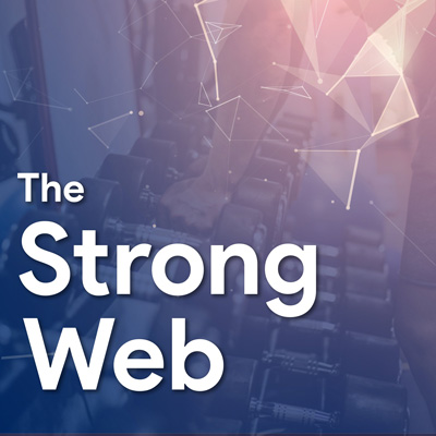 Strong web logo small