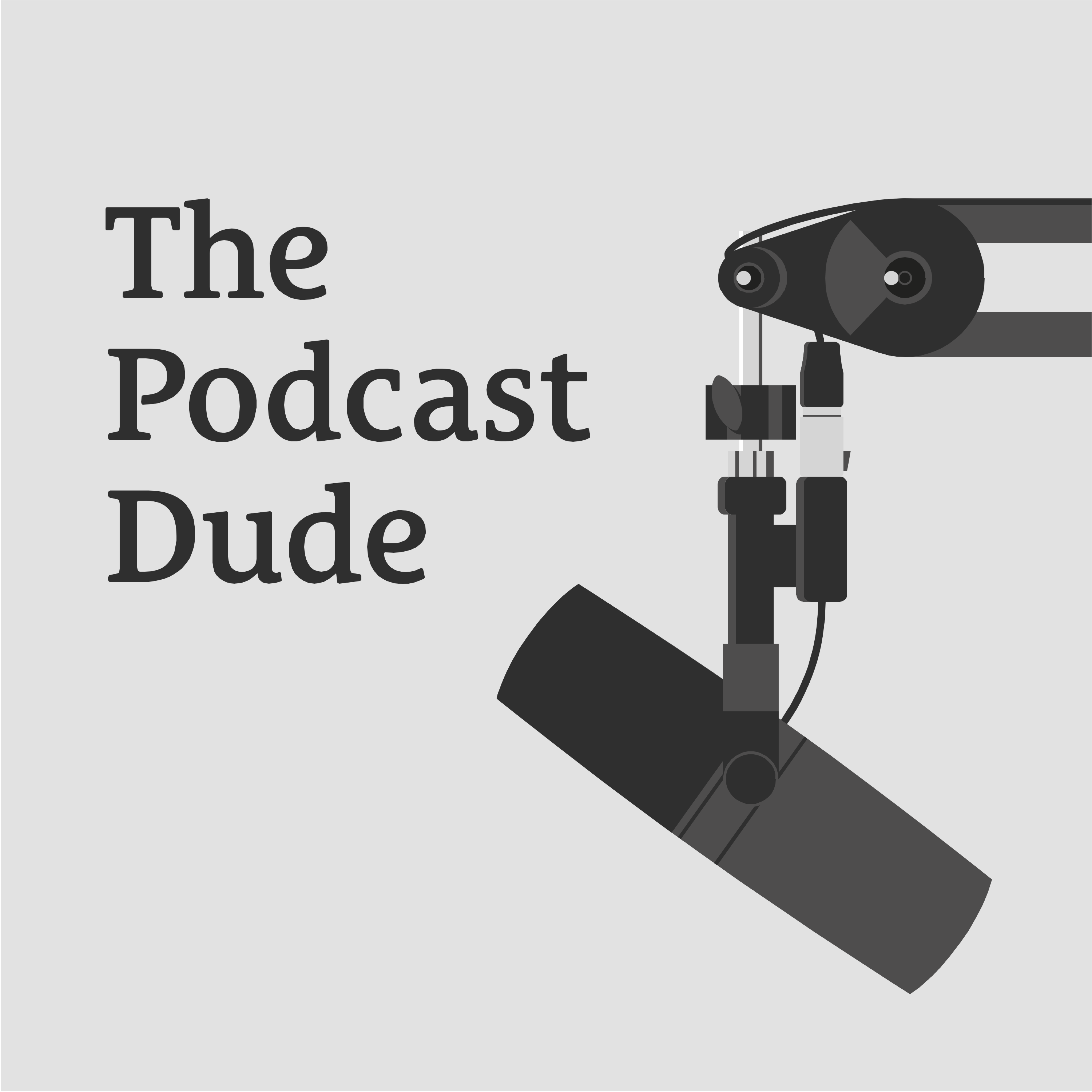 Thepodcastdude art new 2018