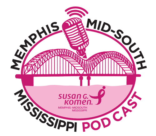 Pink podcast logo