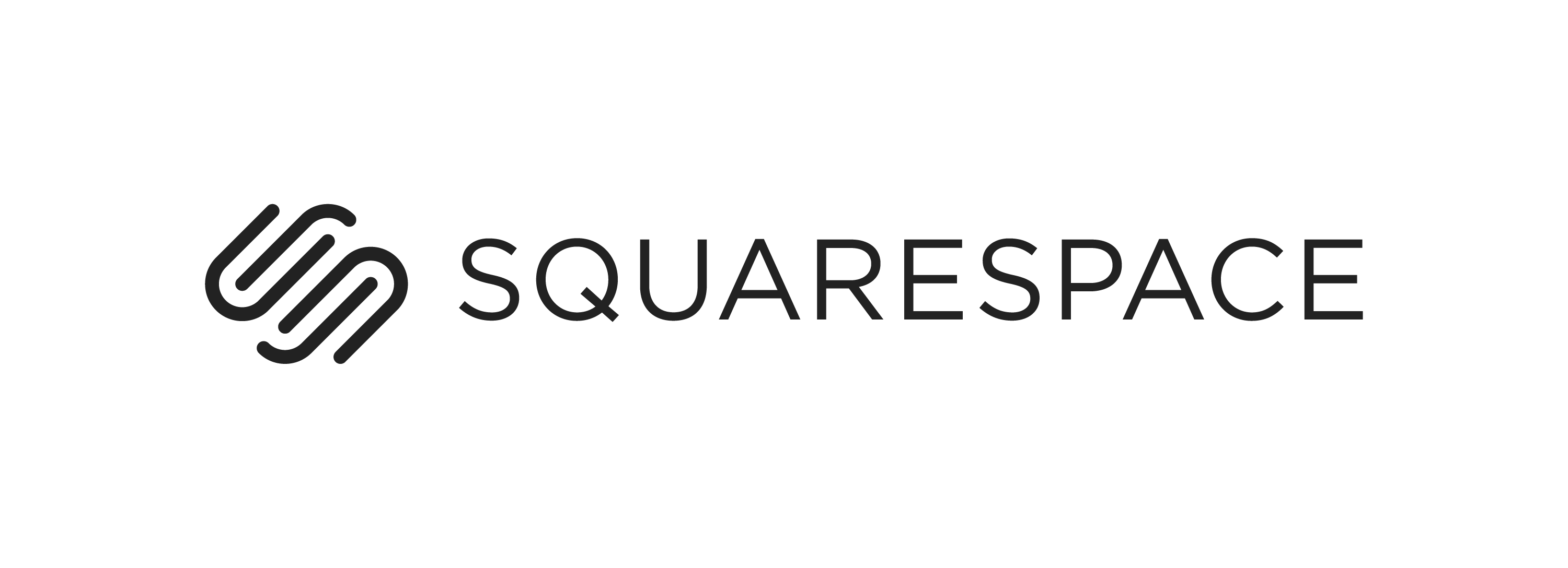 Squarespace logo horizontal black