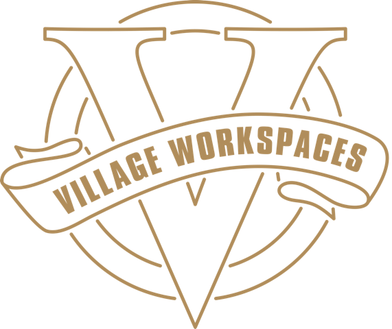 Village workspaces logo gold  1   1