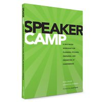 Speaker camp cover
