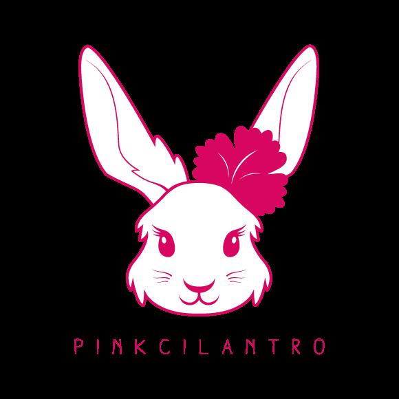 Pink cilantro logo file