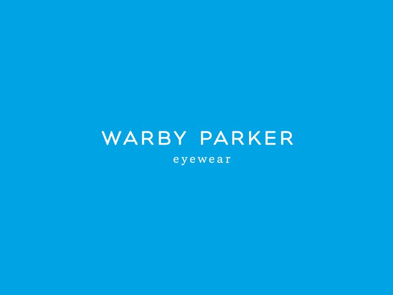 Warbyparker logoblue