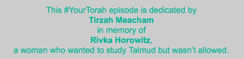 Tirzah dedication