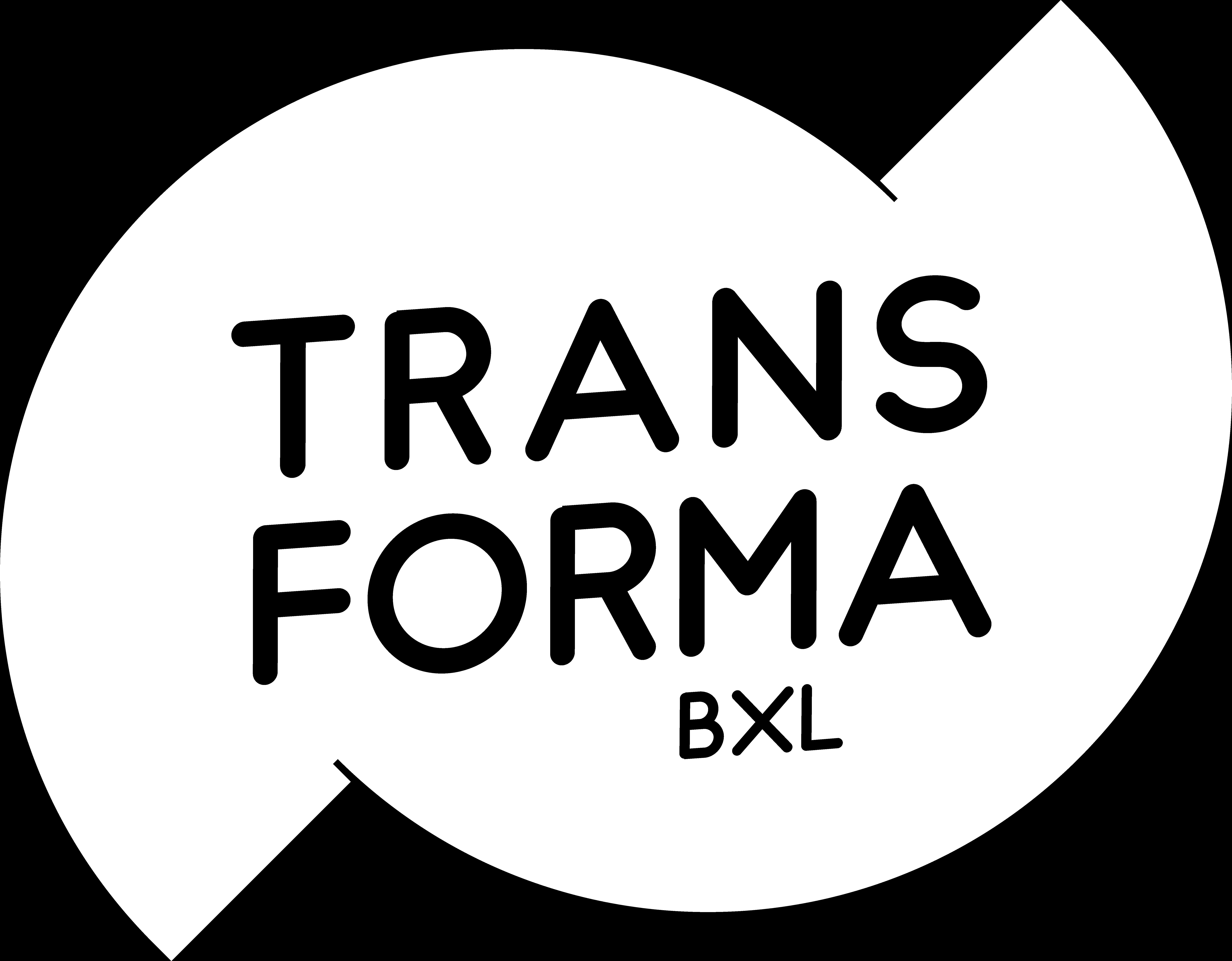 Transforma logo white